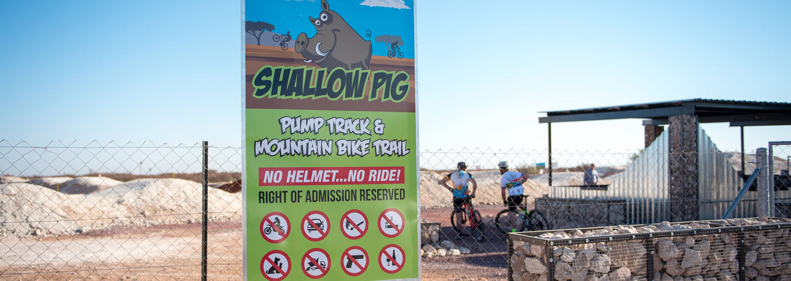 Shallow Pig Pump Track & Bike Trail
